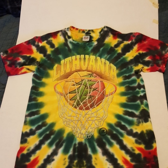 Anvil Shirts Rare Official Lithuanian Basketball T Poshmark